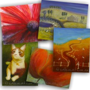 Photo of 5 assorted greeting cards