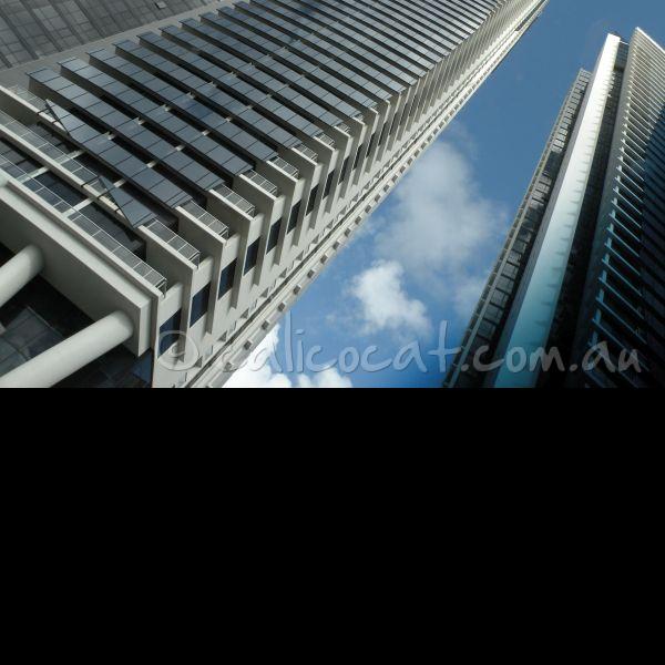 Photo of skyscrapers